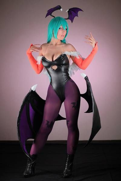 Morrigan from Darkstalkers game