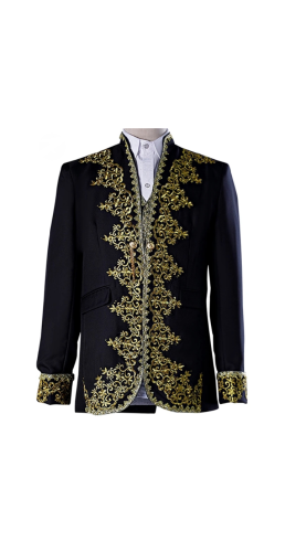 Gentleman's brocade / gothic jacket set