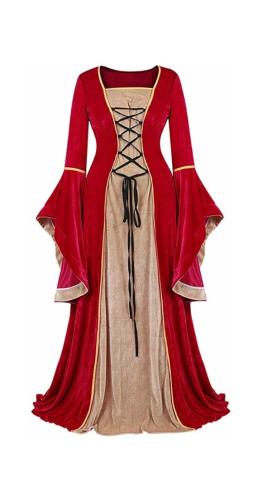 Medieval style panto dress