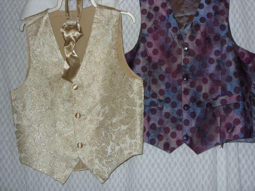Wedding waistcoats