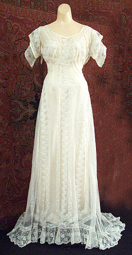 edwardian lace gown front