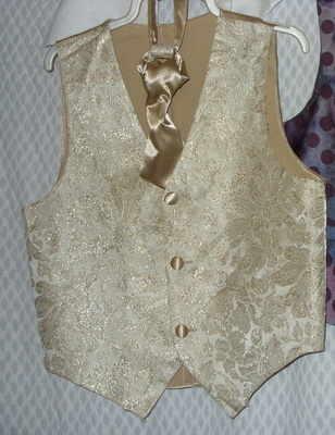 Wedding Waistcoat & Cravat