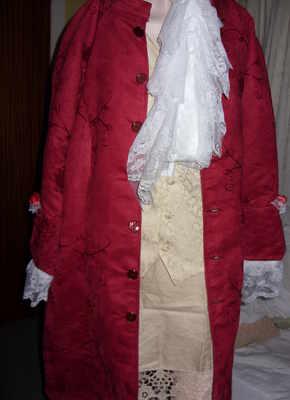 Georgian Lord Frock Coat