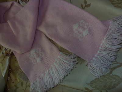 Snowflake logo scarf