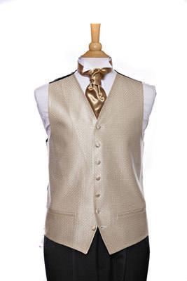 Men's Victorian waistcoat and Cravat