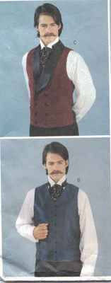 Victorian Shirt, Cravat and Waistcoats - colourways