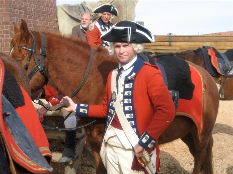 redcoat officer john adams