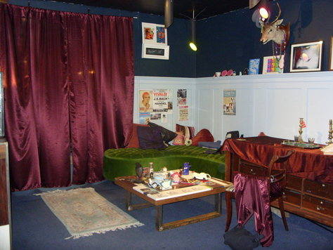 set designed by M Kenny for Friend in Need