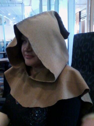 Woollen Larp Hoods - Medieval