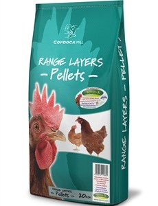 Copdock Mill - Poultry Range Layers Pellets 20kg