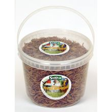 Dried Meal Worms 3ltr