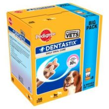 Pedigree Dentastix Medium 56's