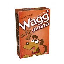 Wagg Mmms Dog Biscuits Liver  400g