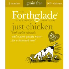 Forthglade Just Chicken Grain Free 18x395g