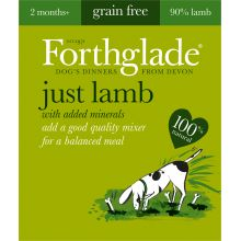 Forthglade Just Lamb Grain Free 18x395g