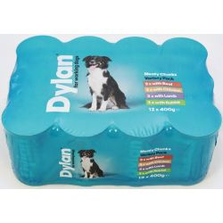 Dylan For Working Dogs Variety 12 x 400g