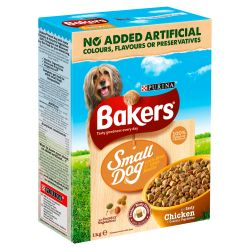 Bakers Complete Small Dog Chicken 1kg