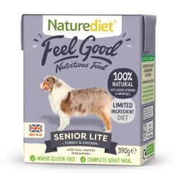 Naturediet Feel Good Senior/Lite 18x390g