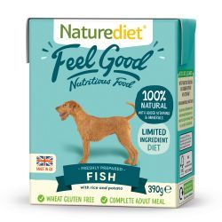 Naturediet Feel Good Fish 18x390g