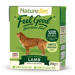 Naturediet Feel Good Lamb 18x390g