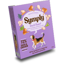 Symply Tray Adult Grain Free - Duck Roast 395g