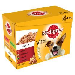 Pedigree Pouch in Jelly 12x100g