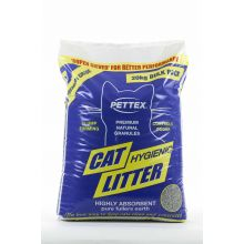 Pettex Premium Fullers Earth Clumping Cat Litter 20kg