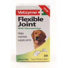 Vetzyme Flexible Joint With Glucosamine Tablets 30's