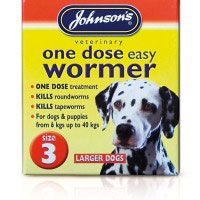Johnsons One Dose Wormer Size 3