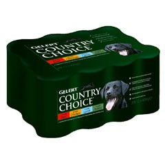 Gelert Country Choice 12 x 400g