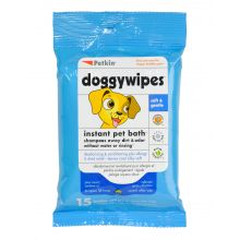 Petkin Dog Wipes Xl 15's