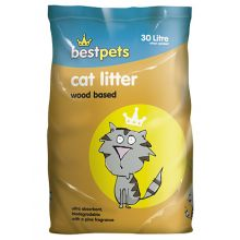 Best Pets Woodbased Cat Litter 30 litre