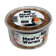 Dried Meal Worms 500ml