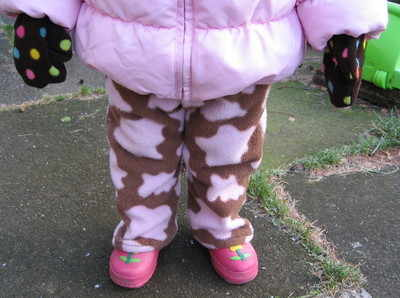 Toddler fleece trousers