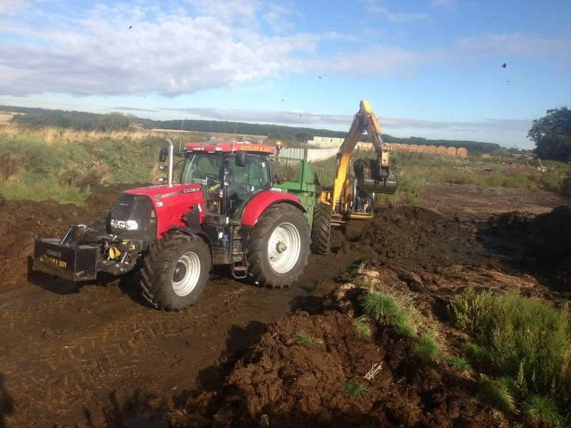 loading muck with js130