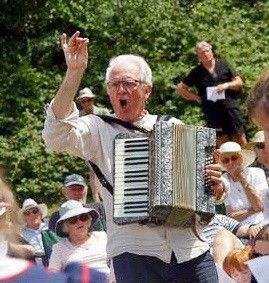 Dave with accordion