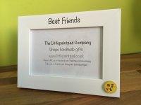 Handmade Children's Photo Frame - Best Friends