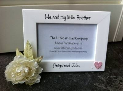 i love my brother frame by mothercare big photo