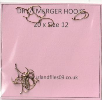 HERITAGE BG5 TROUT Down-Eye Hooks Size 14 Redditch England 25 *ALMOST FREE*