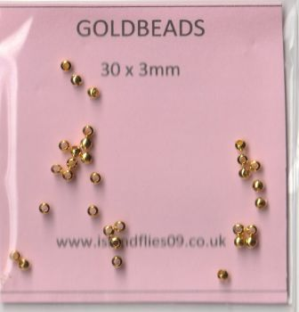 GOLDBEADS 3MM