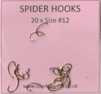 spider hooks #12