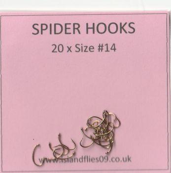 spider hooks #14