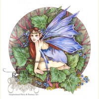 """Blue Blossom Fairy"" by Linda Ravenscroft"