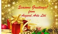 asgard arts christmas logo