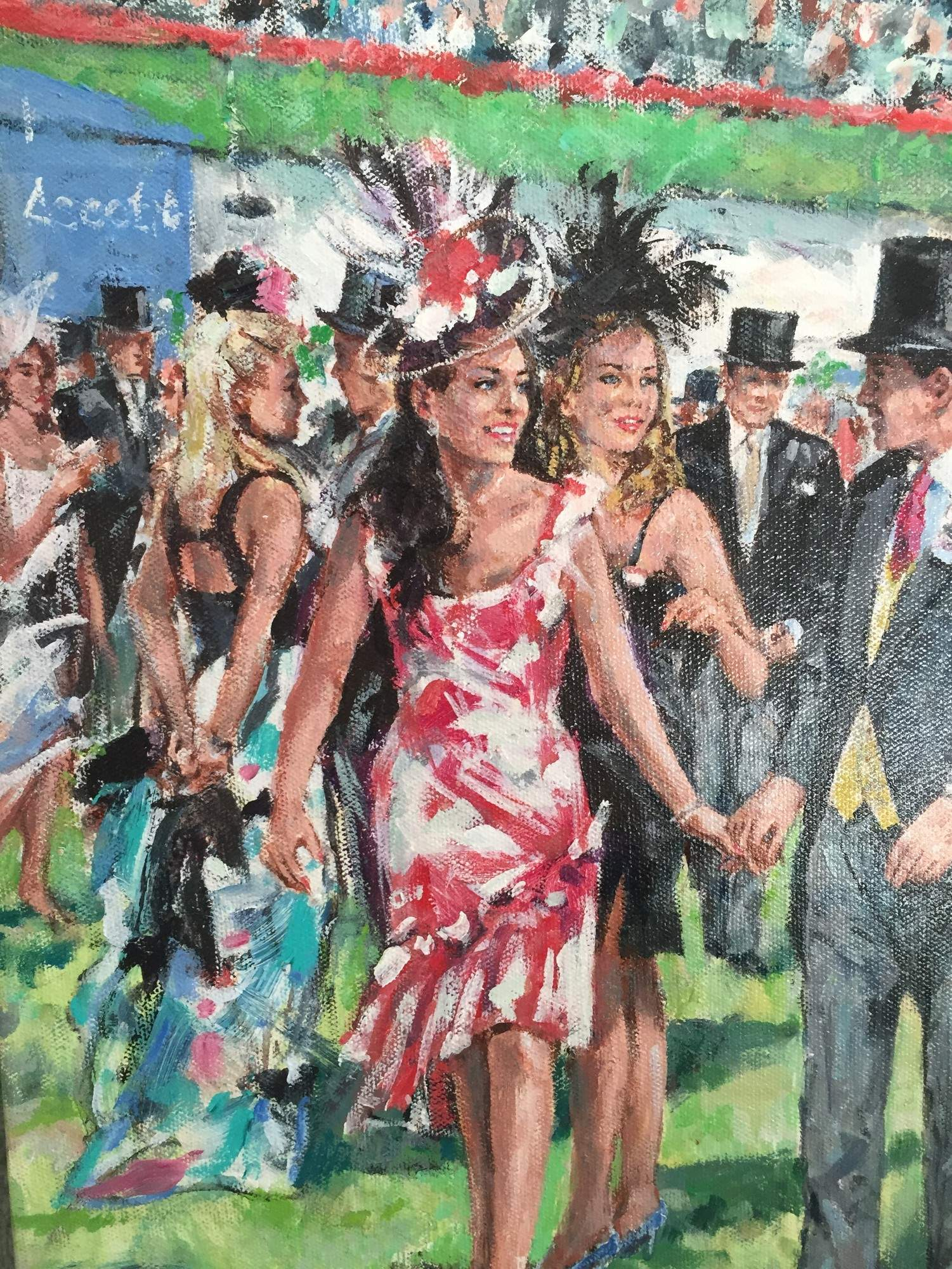 walking out ascot close up 2