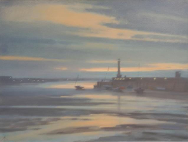 Calm Evening 24 x 32 oil on canvas