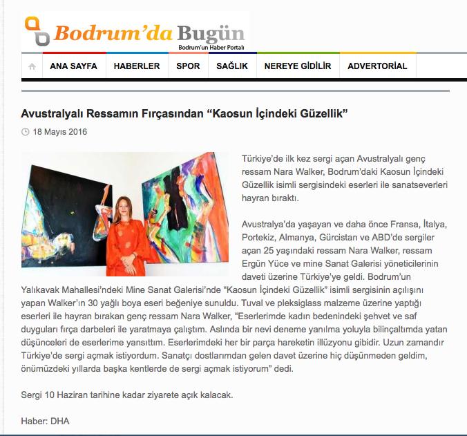 a Bodrum news