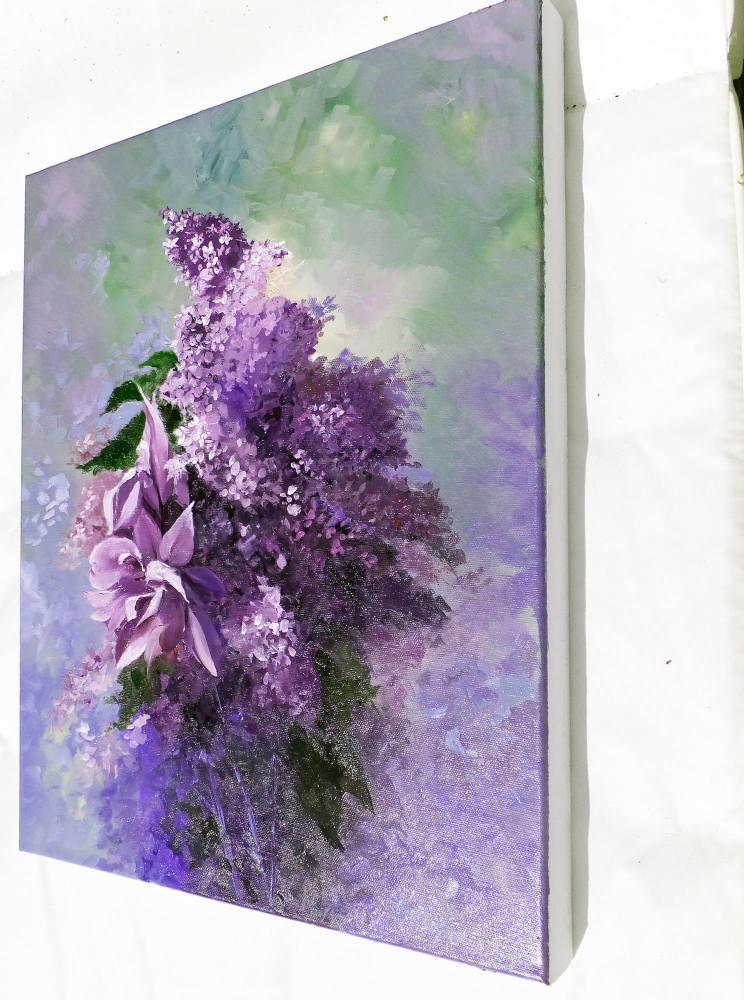 Iris and Lilacs angle