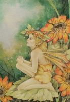 """The Sunflower Fairy"" by Linda Ravenscroft"