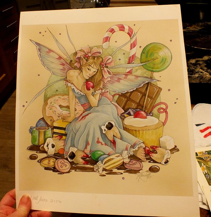 sweet tooth fairy 11 x 11inches